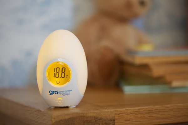 the gro egg - temperature gauge