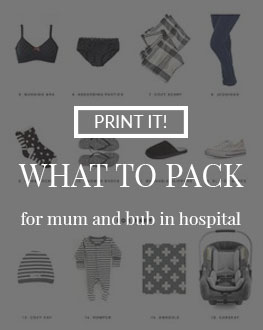 What to Pack for Hospital Download checklist